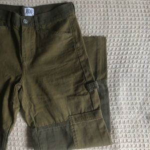 [New] Two-Tone Cargo Trousers